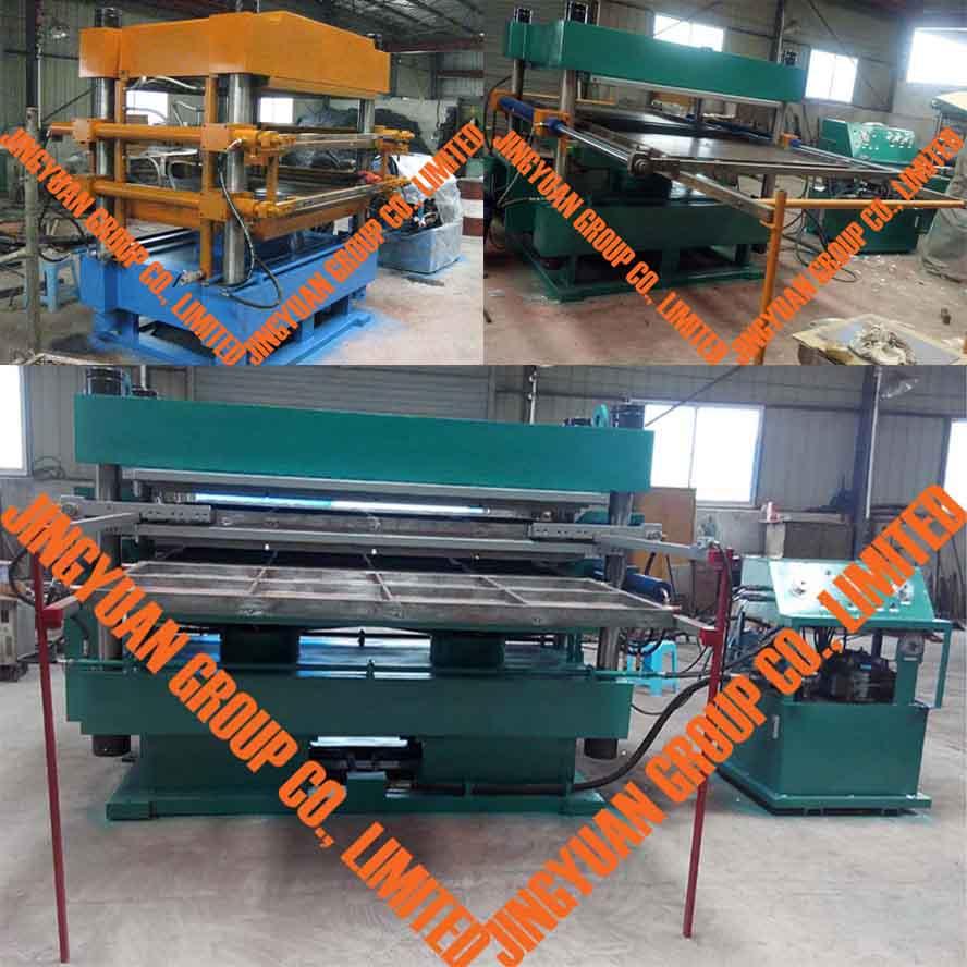 Automatic Vulcanizing Machine Press Used Tire Recycling